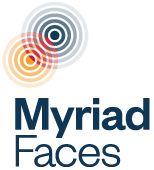 Myriad Faces logo
